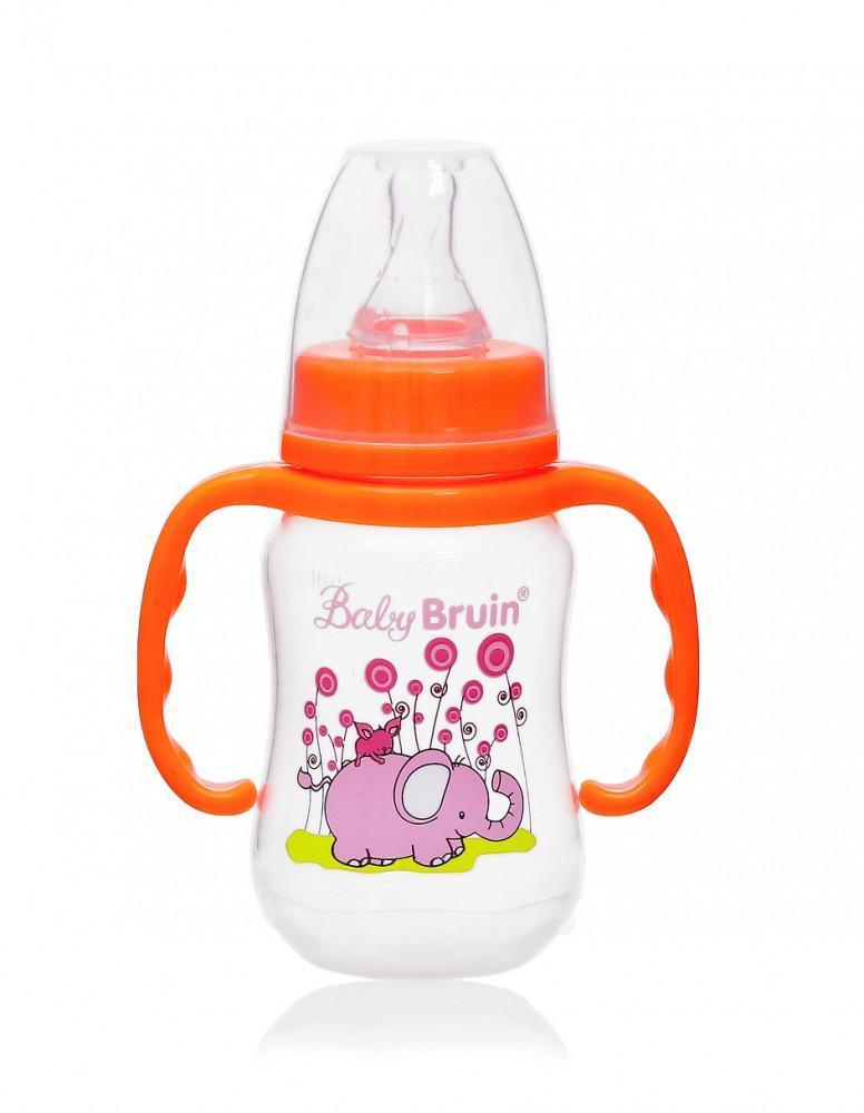 Baby Bruin cumisüveg PP műany.karcsú,fogóval 120ml 1x