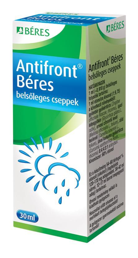 Antifront Béres belsőleges cseppek 1x30ml