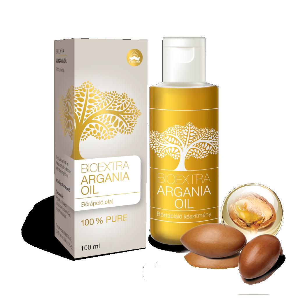 Bioextra Argania oil+Beauty Caps bőráp.olaj kapsz. 100ml