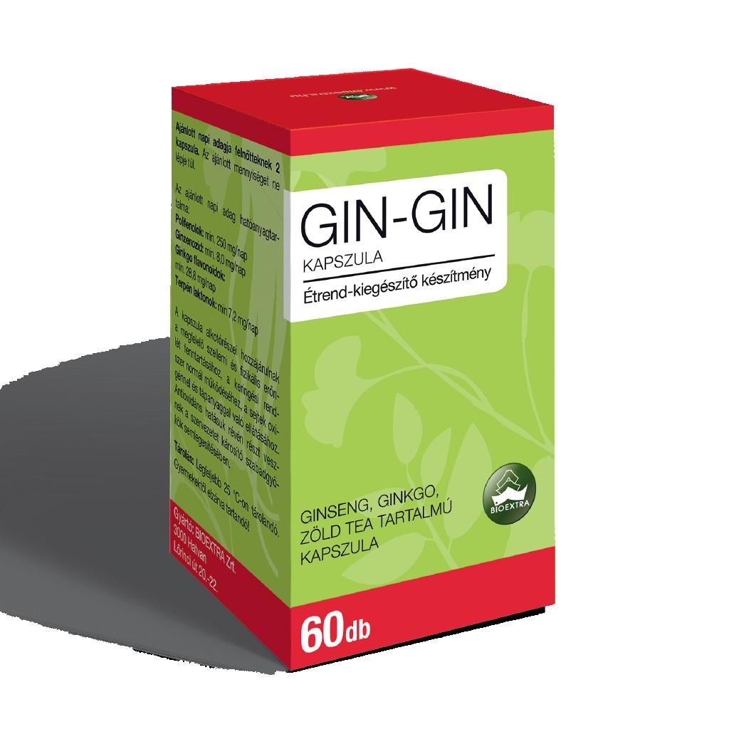 Bioextra Gin-Gin kapszula 60x