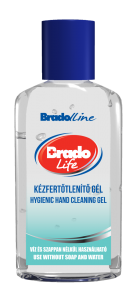 Bradolife Bradogel higiénes kézfertőtlenítő 50ml