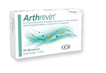 Arthrevin UC- II. étrendkiegészítő  kapszula 30x