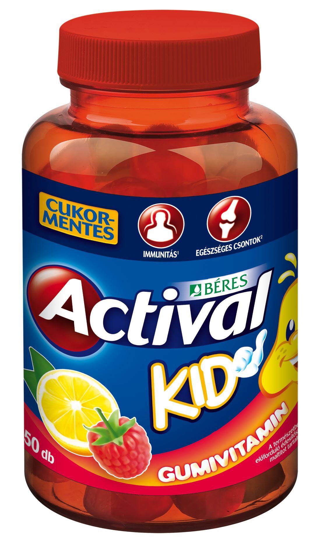 Actival Kid gumivitamin 50x