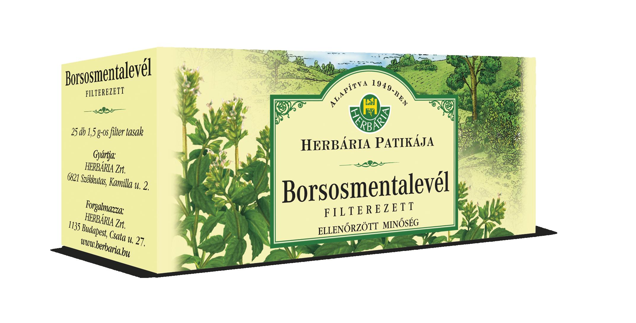 Borsmenta filteres HERBÁRIA 25x1,5g