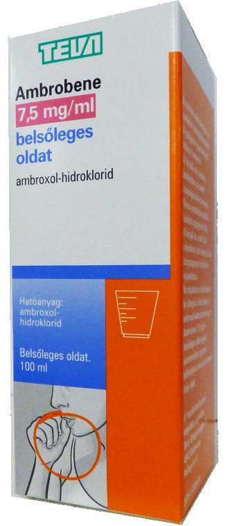 Ambrobene  7,5 mg/ml belsőleges oldat 100ml