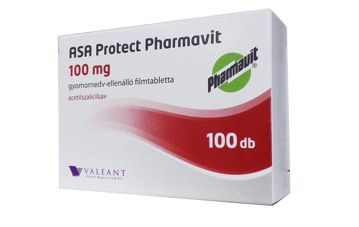 ASA Protect Pharmav.100mg gy.nedv-ell.á.ft. ASA EP 100x