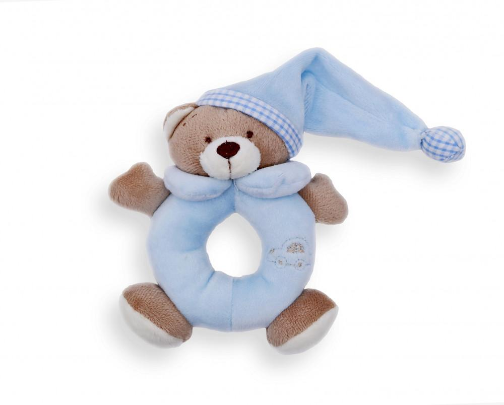 Baby Bruin csörgő 14cm + plüss maci 1+1