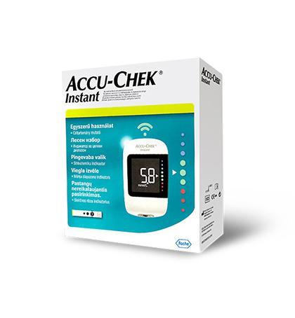 AccuChek Instant KIT vércukorszintmérő készlet 1x