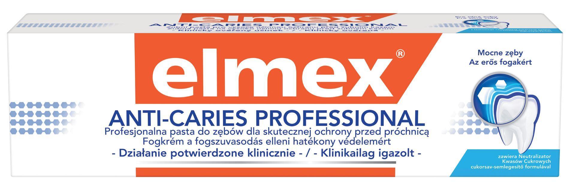 Elmex fogkrém AntiCaries Profession 75ml