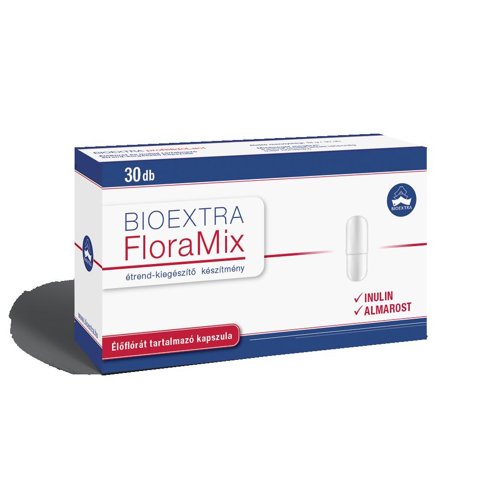 Bioextra Floramix élőflóra inulin kapszula 30x