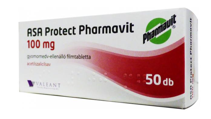 ASA Protect Pharmav.100mg gy.nedv-ell.á.ft. ASA EP 50x
