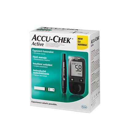 AccuChek Active KIT vércukorszintmérő készlet 1x