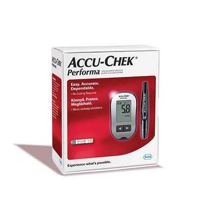 AccuChek Performa KIT vércukorszintmérő készülék