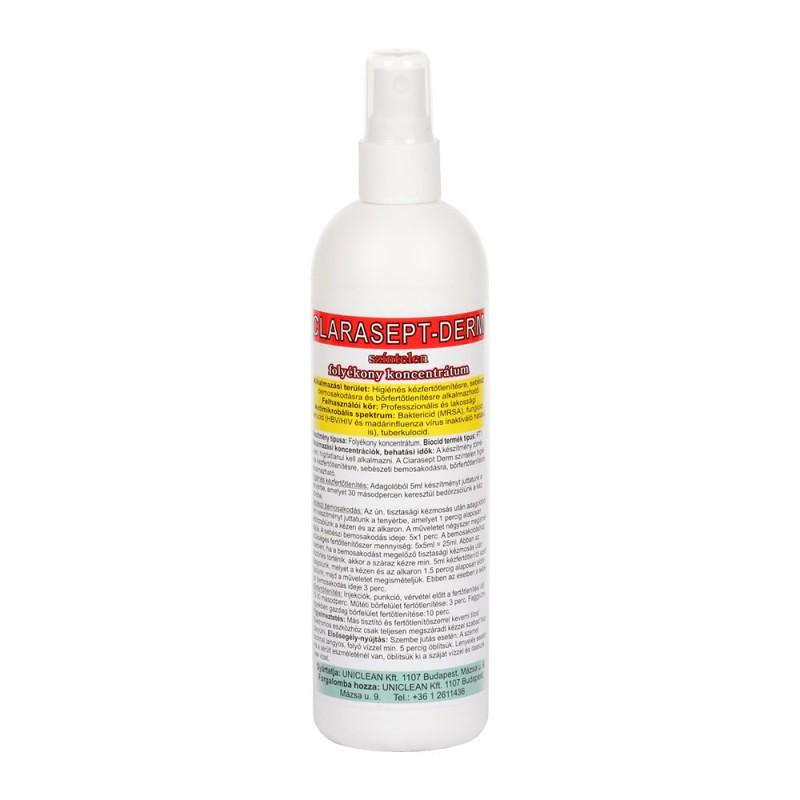Clarasept-Derm színtelen bőrfertőtlenítő oldat 250ml