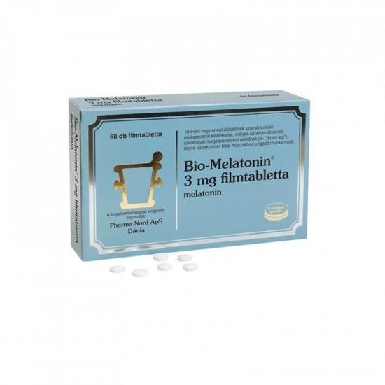 Bio-Melatonin 3 mg filmtabletta 60x