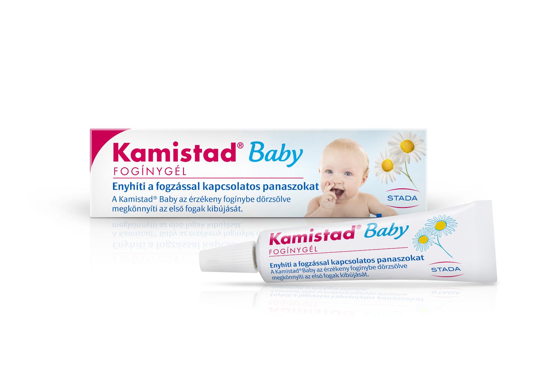 Kamistad Baby fogínygél 10ml