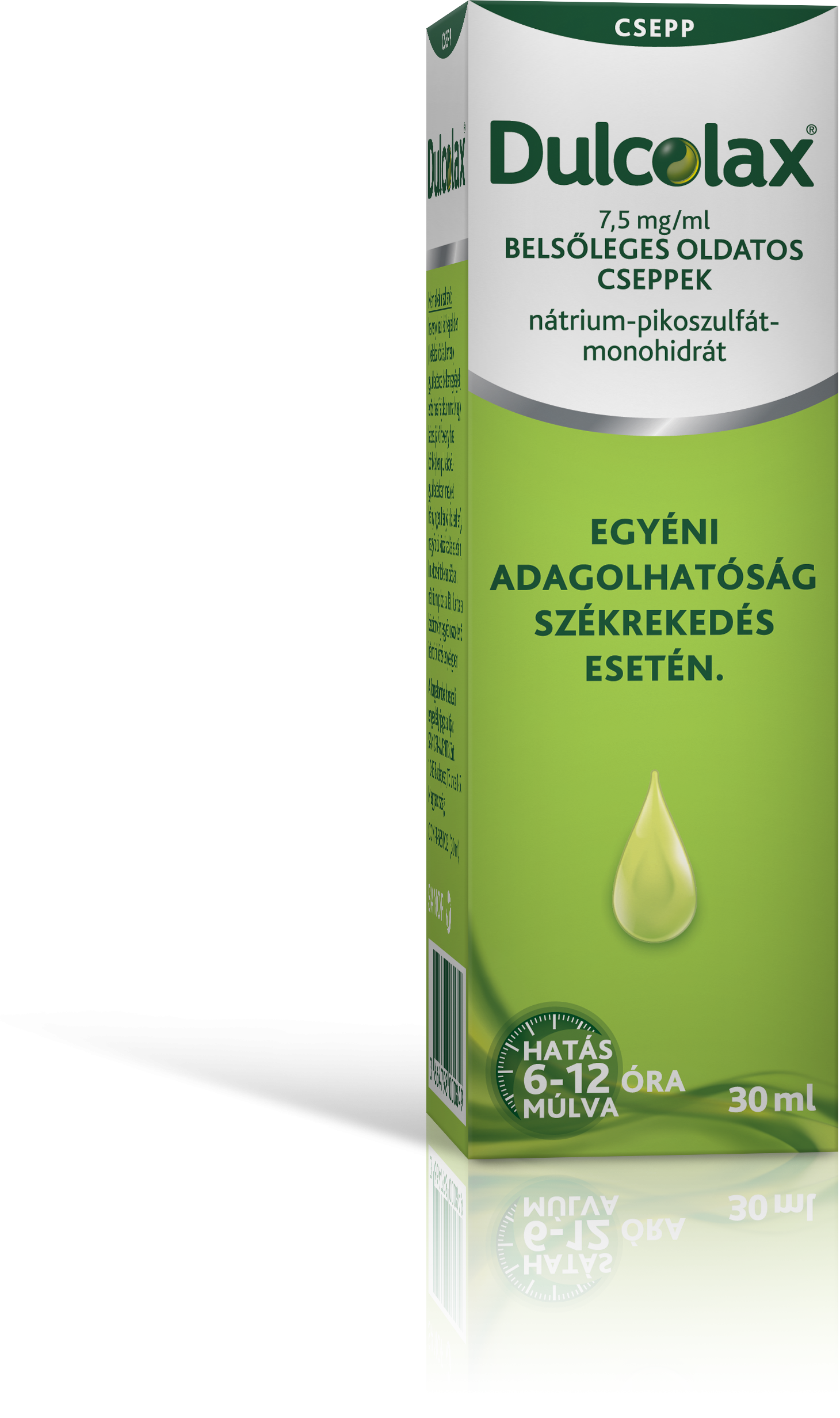 Dulcolax 7,5 mg/ml belsőleges oldatos cseppek 1x30ml