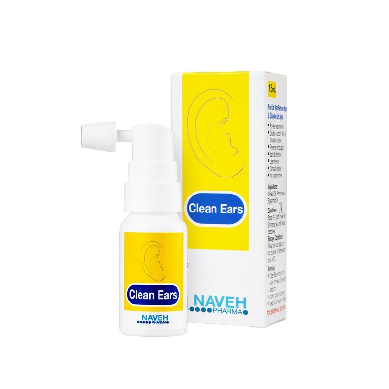 Cleanears (fültisztító spray) 15ml