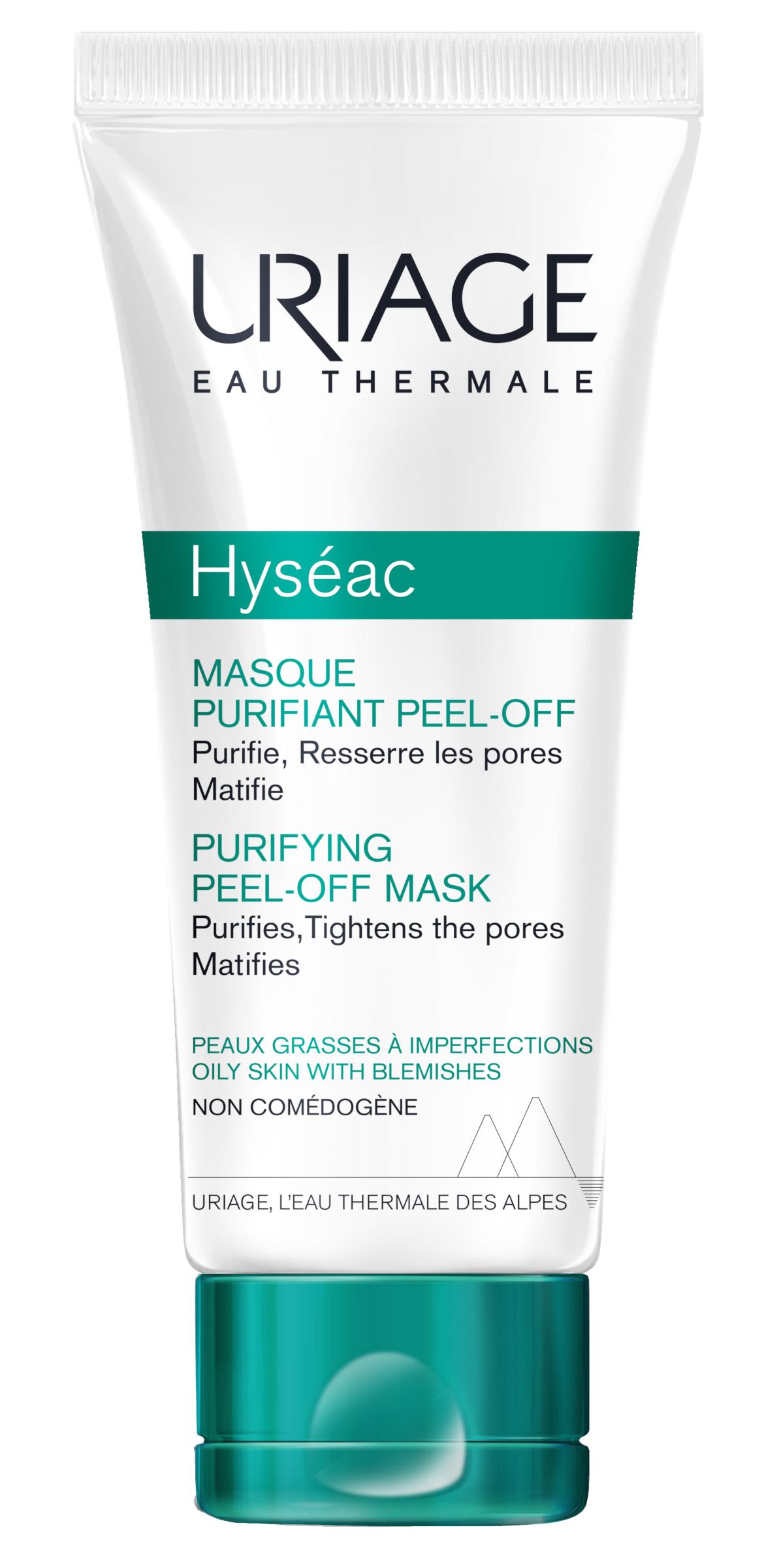 Uriage Hyséac Mélytisztító maszk zsíros bőrre 50ml