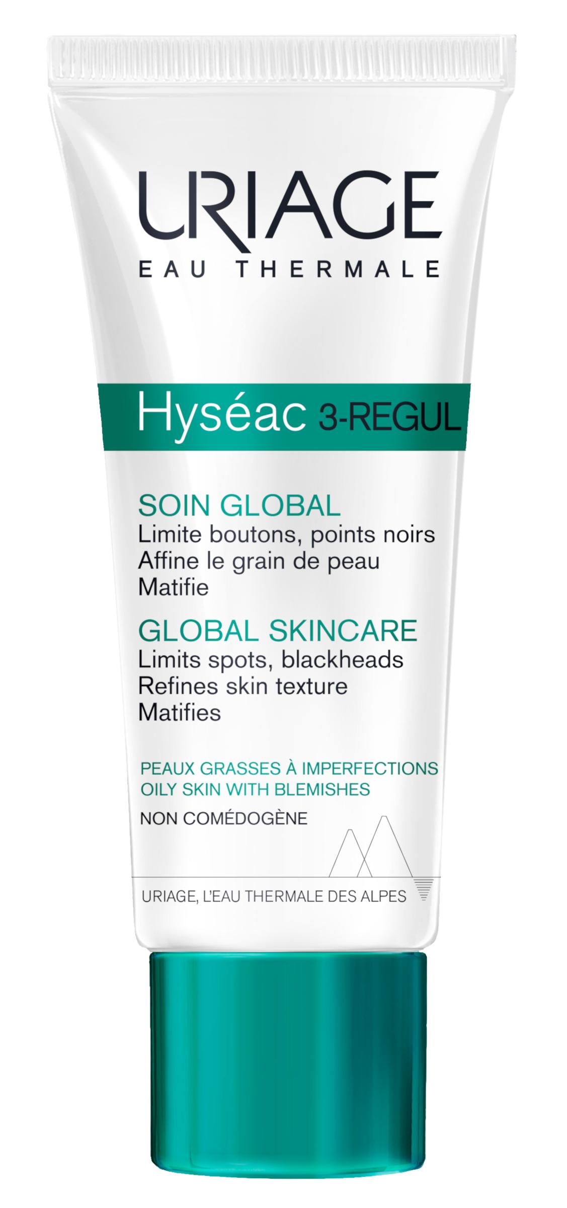 Uriage Hyséac 3-Regul krém akne+mitesszerek 40ml