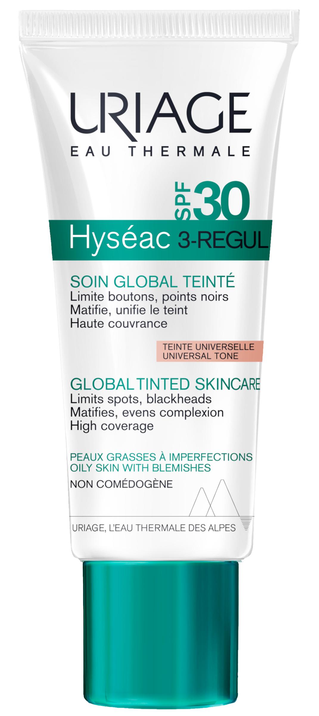Uriage Hyséac 3-Regul színezett krém SPF30 40ml