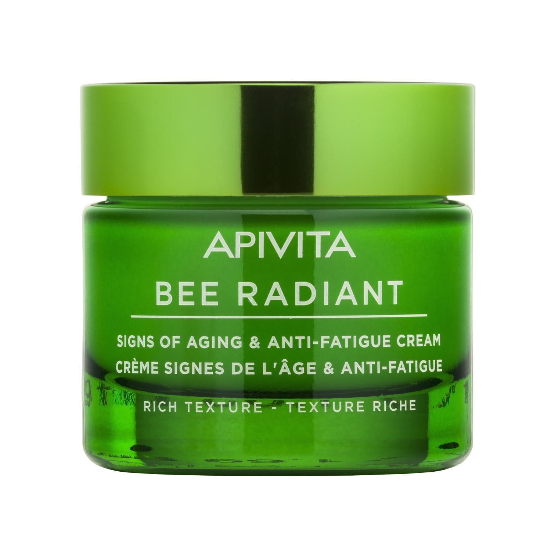APIVITA BEE RADIANT Bőröregedés ellen arckrém RICH 50ml
