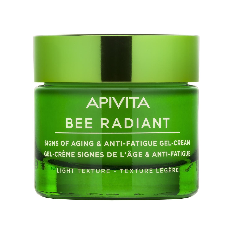 APIVITA BEE RADIANT Bőröreg. elleni gél-krém LIGHT 50ml