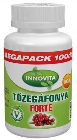 BioCo InnoVita tőzegáfonya forte tabletta 100x
