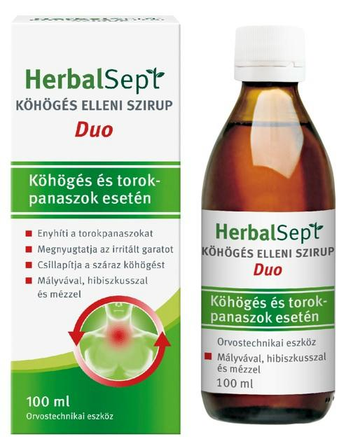 Dr. Theiss HerbalSept Duo szirup köhögésre 100ml