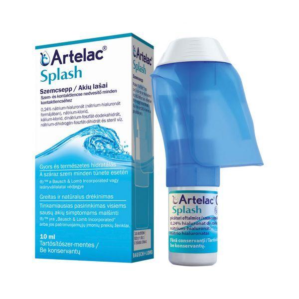 Artelac Splash szemcsepp 1x10ml