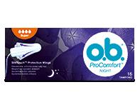 O.b. ProComfort Night tampon super 16x