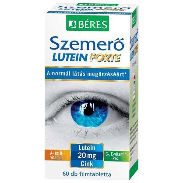 Béres Szemerő Lutein Forte étrendkiegészítő ftabl. 60x
