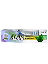 Dr.Chen Aloe Vera fogkrém+ajándék fogkefe 120g