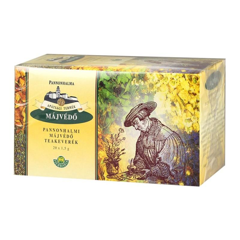 Pannonhalmi Májvédő teakeverék filteres 20x1,5g