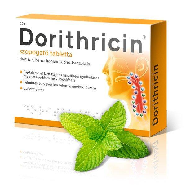 Dorithricin Mentol szopogató tabletta 20x
