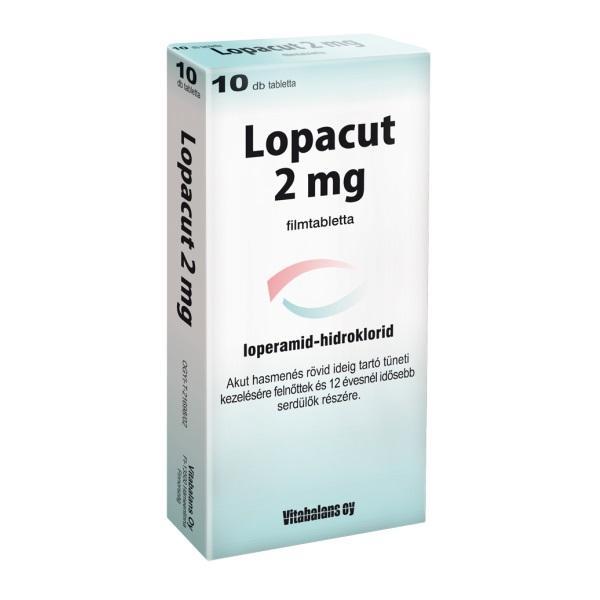 Lopacut 2 mg filmtabletta 10x