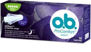 O.b. ProComfort Night tampon super plus 16x