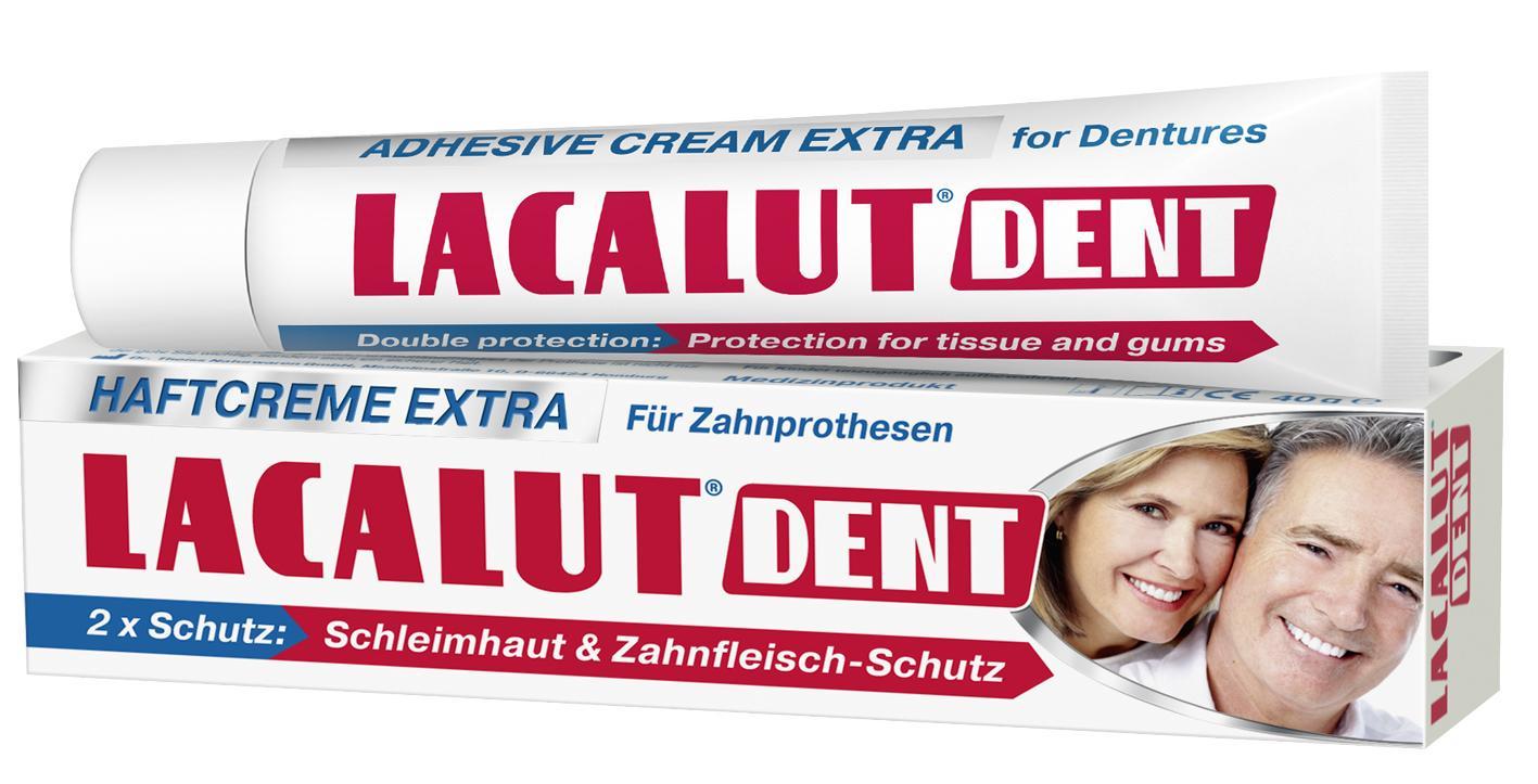 Lacalut Dent Extra műfogsorrögzítő krém 40ml