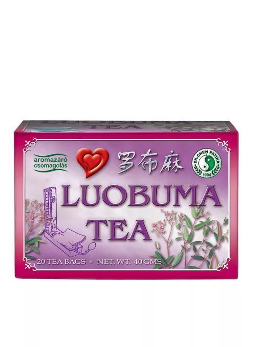 Dr.Chen Luobuma vérnyomáscsökkentő tea 20x2g
