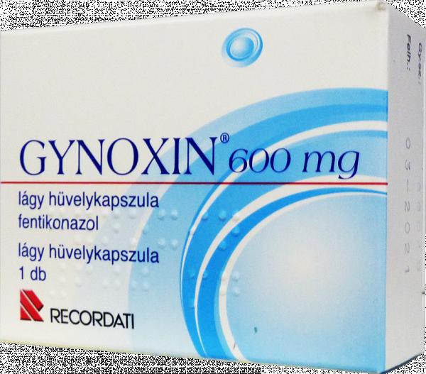 Gynoxin 600 mg lágy hüvelykapszula 1x