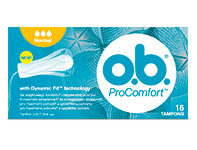 O.b. ProComfort tampon normál 16x