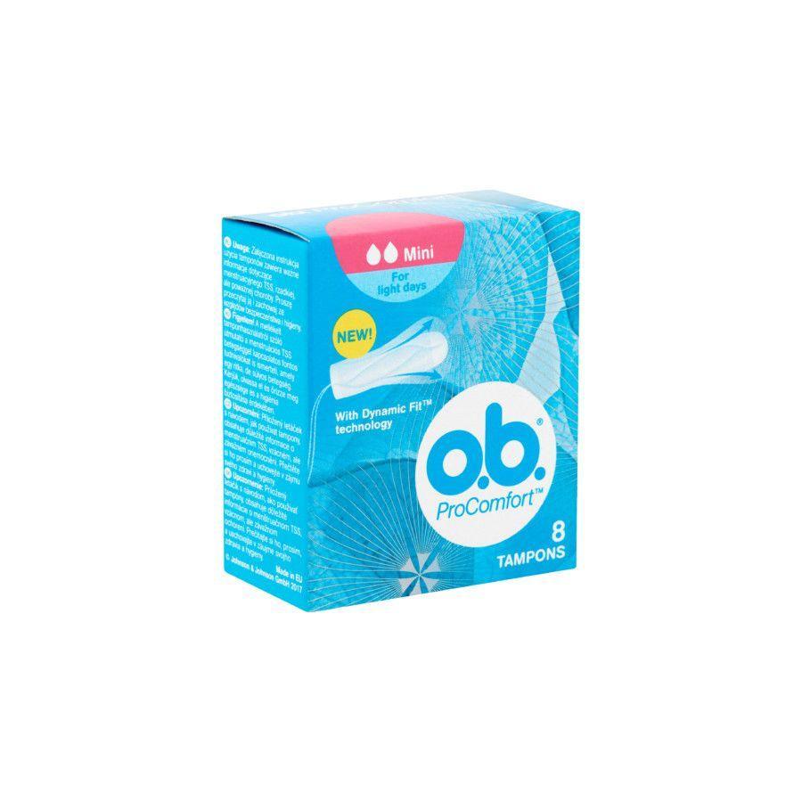 O.b. ProComfort tampon mini 8x
