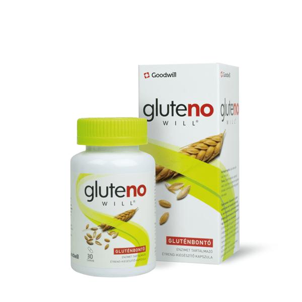 Glutenowill Gluténbontó enzim tartalmú kapszula 30x