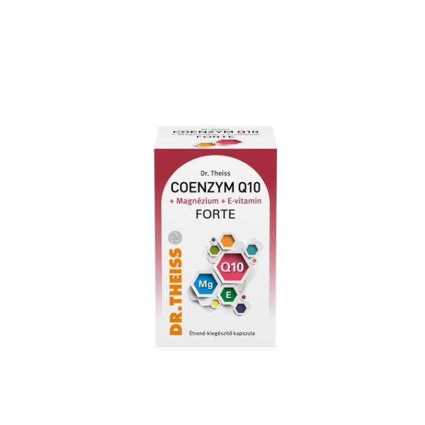 Dr. Theiss Q10 +Mg+E vitamin forte kapszula 60x