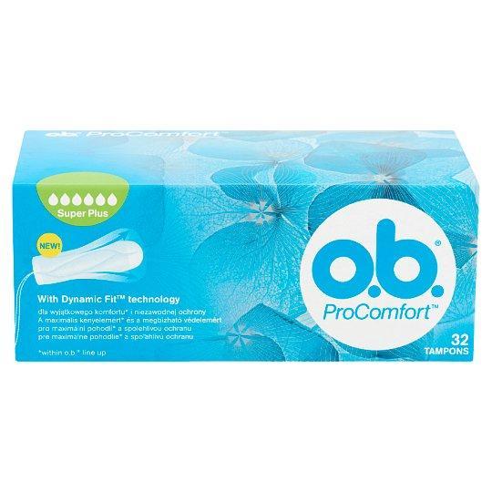 O.b. ProComfort tampon super plus 32x