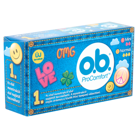 O.b. ProComfort Recruitment Teens Pack 16x