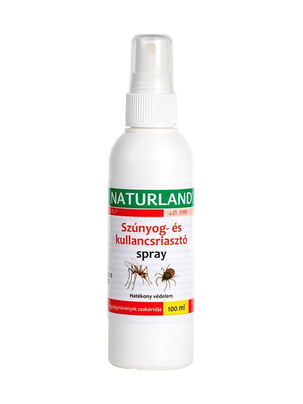 Naturland Szúnyog/kullancs-riasztó spray 100ml