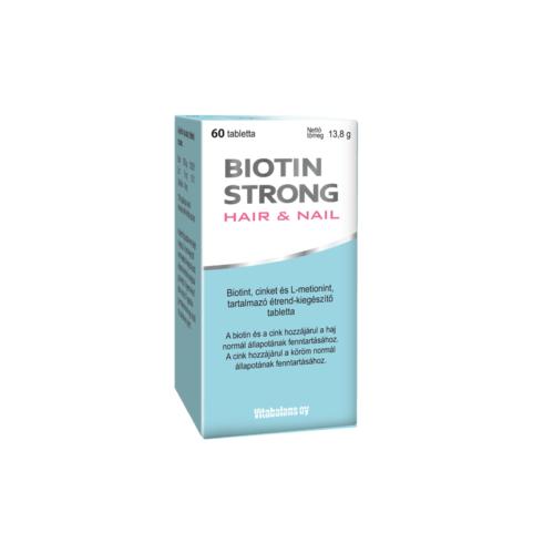 Biotin Strong Hair et Nail tabletta 60x