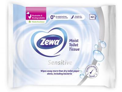 Toalettpapír Zewa Pure nedves 42x