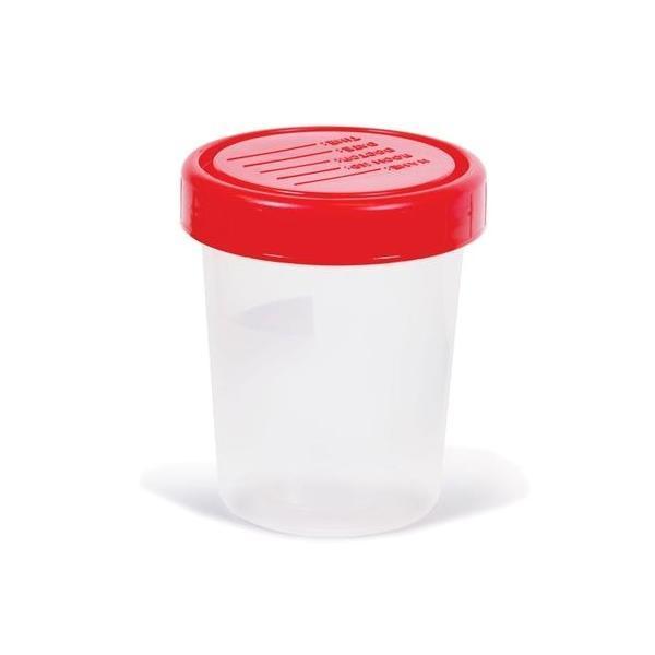 Vizeletgyűjtő pohár 120 ml steril 1x